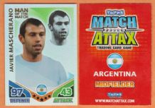 Argentina Javier Mascherano Liverpool 250 Man of the Match